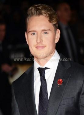 Ross Anderson arriving at the Unbroken London Premiere © Joe Alvarez