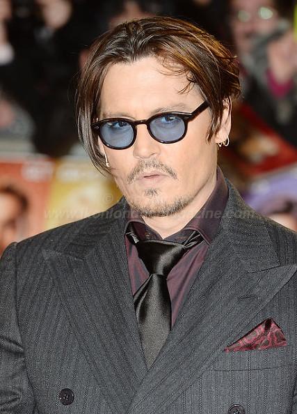 "Johnny Depp attends the premiere of ""Mortdecai"" at Empire, Leicester Square © Joe Alvarez"