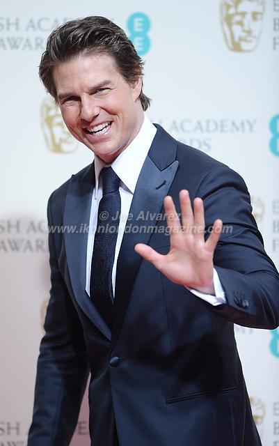 Tom Cruise at BAFTA 2015 © Joe Alvarez