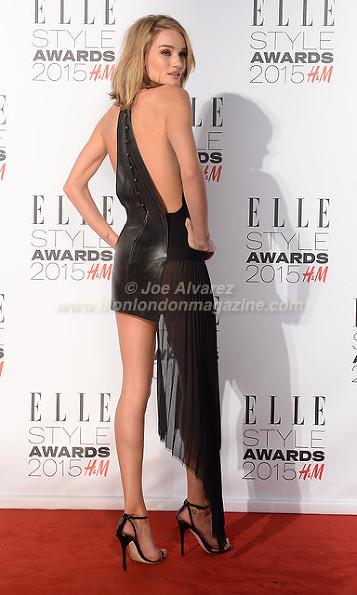 Rosie Huntington-Whiteley at the Elle Style Awards 2015 © Joe Alvarez