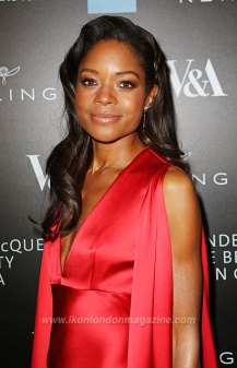 Naomie Harris arrives at the Alexander McQueen: Savage Beauty Fashion Gala at the V&A, presented by American Express and Kering on March 12, 2015 in London, England. Pic Credit: Dave Benett