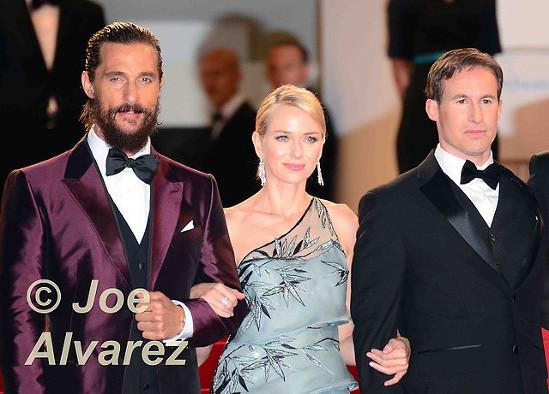 Matthew McConaughey, Naomi Watts 68th Cannes Film Festival © Joe Alvarez