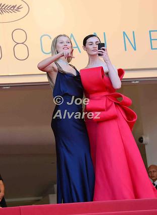 Erin O'Connor, Toni Garn 68th Cannes Film Festival © Joe Alvarez