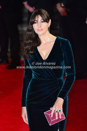 Monica Bellucci at the World Premiere of Hames Bond Spectre at Royal Albert Hall © Joe Alvarez