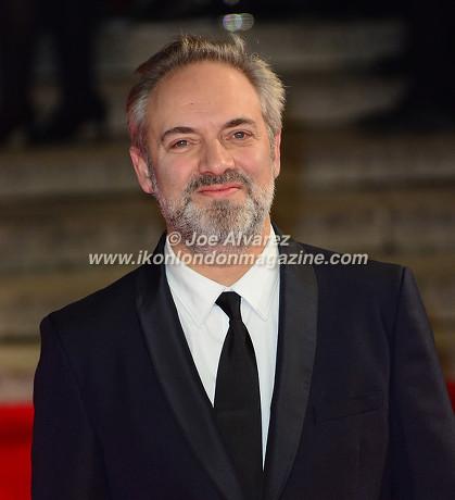 SAM MENDES at the World Premiere of Hames Bond Spectre at Royal Albert Hall © Joe Alvarez