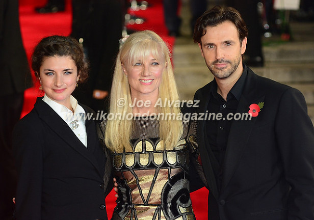 JOELY RICHARDSON, DAUGHTER & PARTNER at the World Premiere of Hames Bond Spectre at Royal Albert Hall © Joe Alvarez