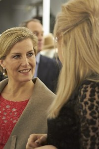 Countess of Wessex Jane Taylor Millinery store launch in Chelsea
