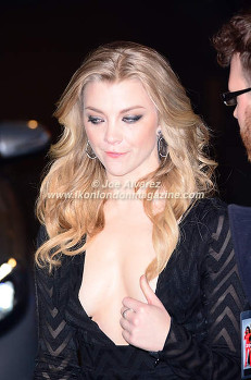 Natalie Dormer at the London premiere of Zoolander 2 © Joe Alvarez