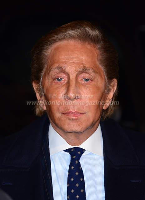 Valentino at the London premiere of Zoolander 2 © Joe Alvarez