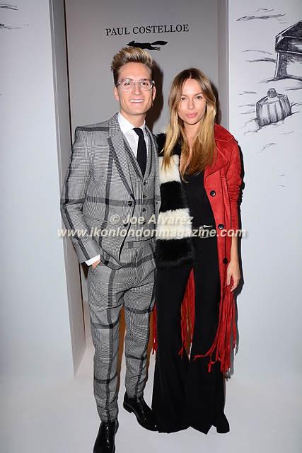 Oliver Proudlock, Emma Louise Connolly Paul Costelloe AW16 Fashion Show © Joe Alvarez