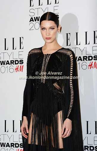 Bella Hadid Elle Style Awards 2016 © Joe Alvarez