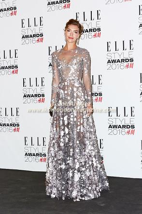 Arizona Muse Elle Style Awards 2016 © Joe Alvarez