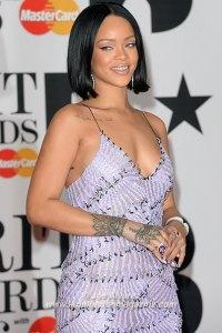 Rihanna at BRIT 2016 Awards 2016 © Joe Alvarez