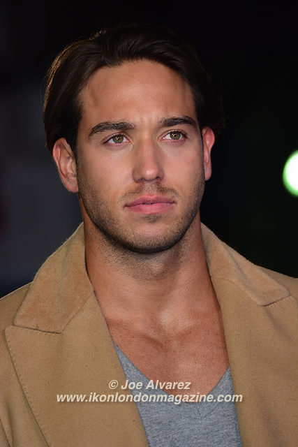 James Lock Eddie The Eagel European Premiere © Joe Alvarez