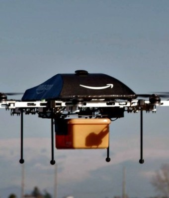 Amazon Delivery Drone. Photo Getty / AFP