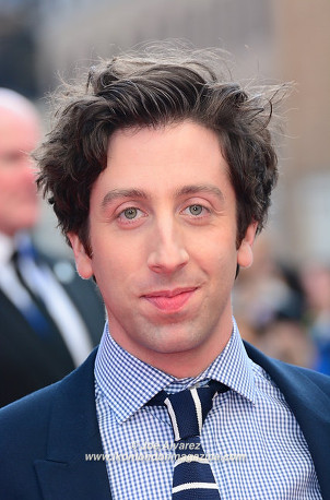 Simon Helberg at the Florence Foster Jenkins premiere © Joe Alvarez