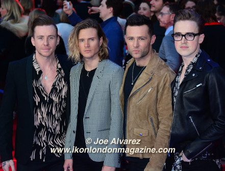 McFly The Captain America: Civil War London premiere © Joe Alvarez