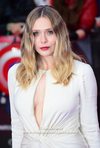 Elizabeth Olsen The Captain America: Civil War London premiere © Joe Alvarez