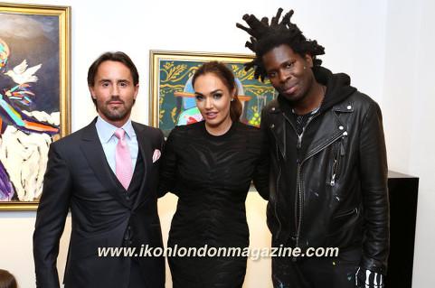 Bradley Theodore, Tamara Ecclestone, Jay Rutland Maddox Gallery