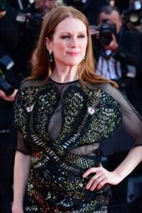 Julianne Moore Justing Timberlake Cannes Film Festival 2016 Opening Night Cafe Society premiere © Joe Alvarez