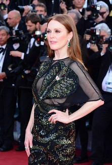 Julianne Moore Justing Timberlake Cannes Film Festival 2016 Opening Night Cafe Society premiere © Joe Alvarez