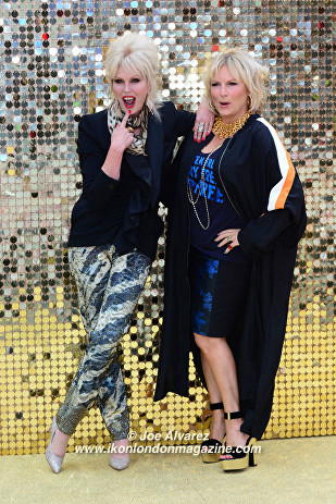 Joanna Lumley and Jennifer Saunders Absolutely Fabulous The Movie London Premiere © Joe Alvarez
