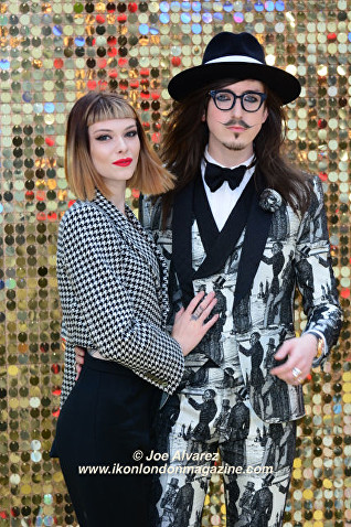 Francesca Merricks, Joshua Kane Absolutely Fabulous The Movie London Premiere © Joe Alvarez