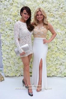 Lizzie Cundy, Zara Holland White Party Safety in Beauty Awards © Joe Alvarez