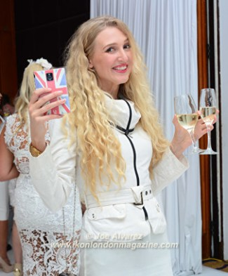 Tamara Orlova-Alvarez White Party © Joe Alvarez