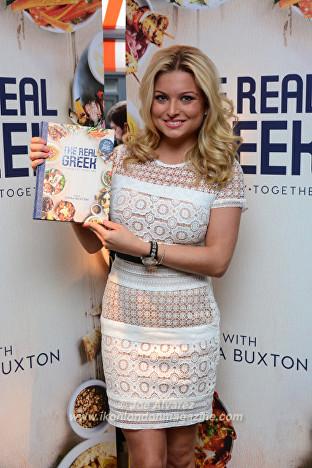 Zara Holland at the Tonia Buxton cookery book launch © Joe Alvarez