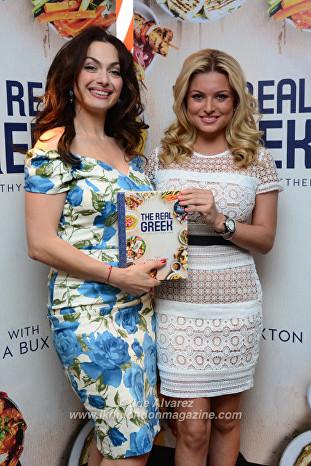Tonia Buxton, Zara Holland at the Tonia Buxton cookery book launch © Joe Alvarez