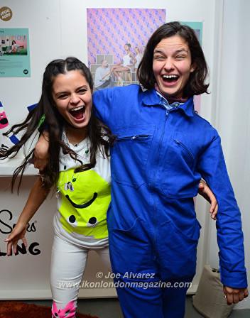 Bip Ling Happy Socks collaboration launch © Joe Alvarez