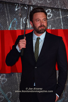 Ben Affleck The Accountant Premiere in London © Joe Alvarez
