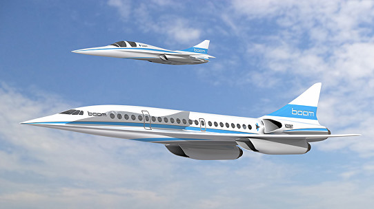 Supersonic Passenger Travel Looms as XB-1 Takes Shape