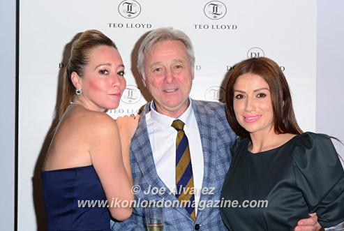 Beth Jones, David Lloyd at Teo Lloyd Store Anniversary Party © Joe Alvarez