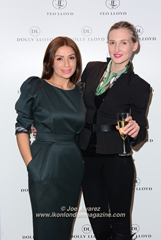 Teo Lloyd, Tamara Orlova-Alvarez at Teo Lloyd Store Anniversary Party © Joe Alvarez