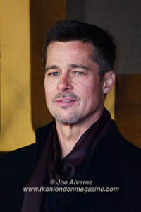 Brad Pitt at the London Premiere of The Allied © Joe Alvarez