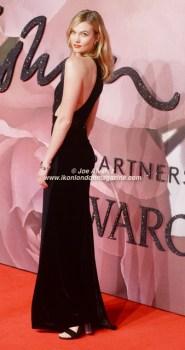 Karlie Kloss Fashion Awards sold out Britain 2016 © Joe Alvarez