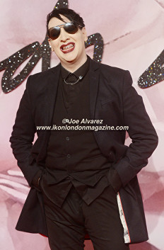 Marylin Manson The Fashion Awards 2016 © Ikon London Magazine.jpg