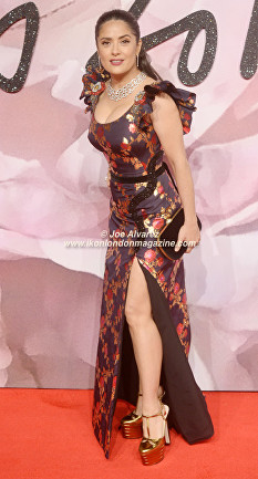 Salma Hayek The Fashion Awards 2016 © Ikon London Magazine