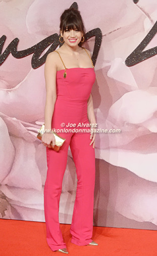 Daisy LoweThe Fashion Awards 2016 © Ikon London Magazine