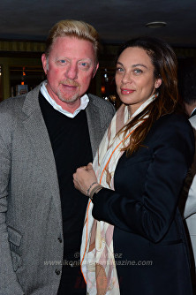 Boris Becker, Lilly Becker © Joe Alvarez