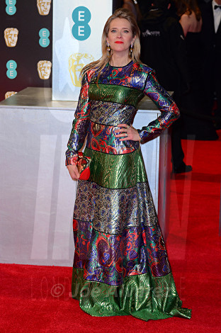 Edith Bowman at Royal BAFTA 2017 © Joe Alvarez
