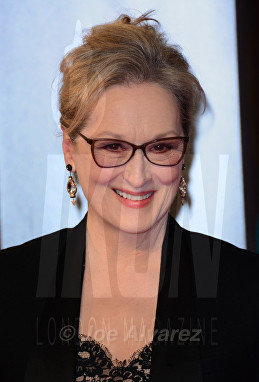 Merryl Streep at Royal BAFTA 2017 © Joe Alvarez