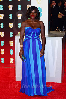 Viola Davies at Royal BAFTA 2017 © Joe Alvarez
