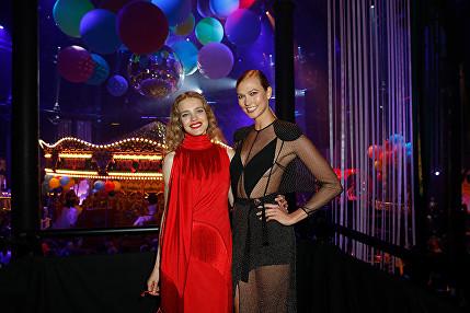 Natalja Vodyanova, Karlie Kloss Naked Heart Foundation