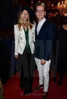 Oliver Proudlock, Emma Louise Connolly at the Wiliam Hunt Cologne Launch © Joe Alvarez