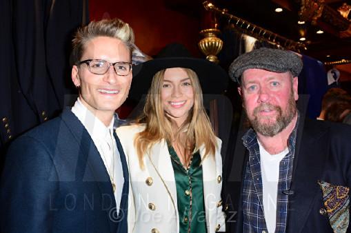 Oliver Proudlock, Emma Louise Connolly, William Hunt at the Wiliam Hunt Cologne Launch © Joe Alvarez
