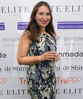Dr Shirin Lakhani Elite Aesthetics Clinic Launch © Joe Alvarez