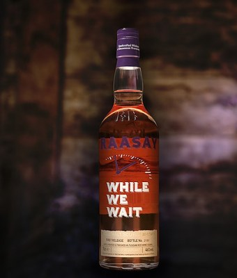 Raasay distillery Whisky While We Wait